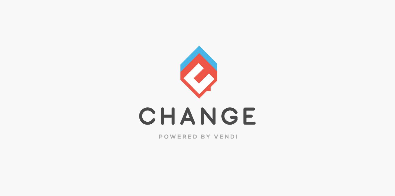 change by vendi logo